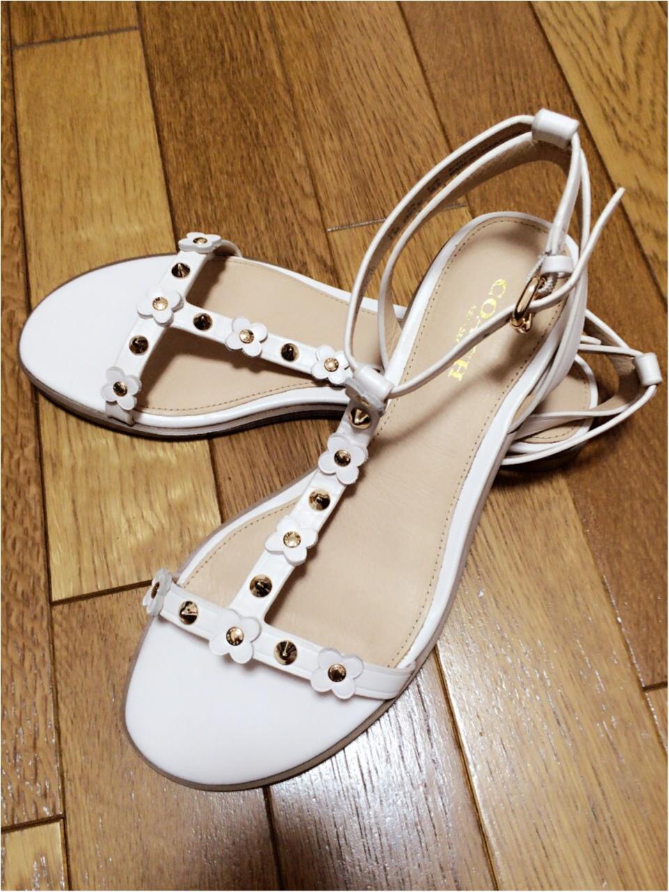 靴は素敵なものを…♡一目惚れしたcoachのサンダル!_3