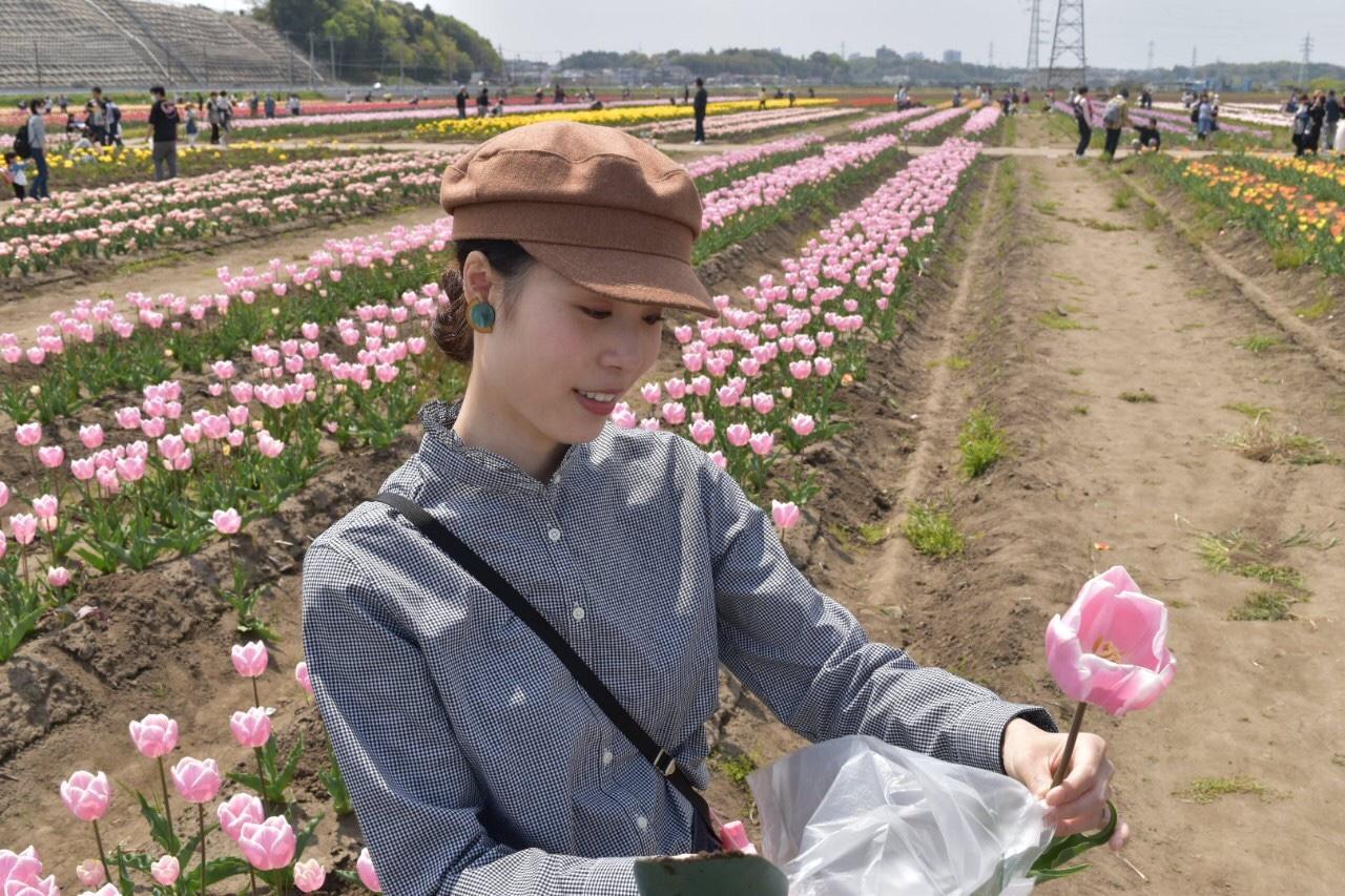 青空とチューリップ♡オランダ風車がシンボルの佐倉ふるさと広場へ!_3