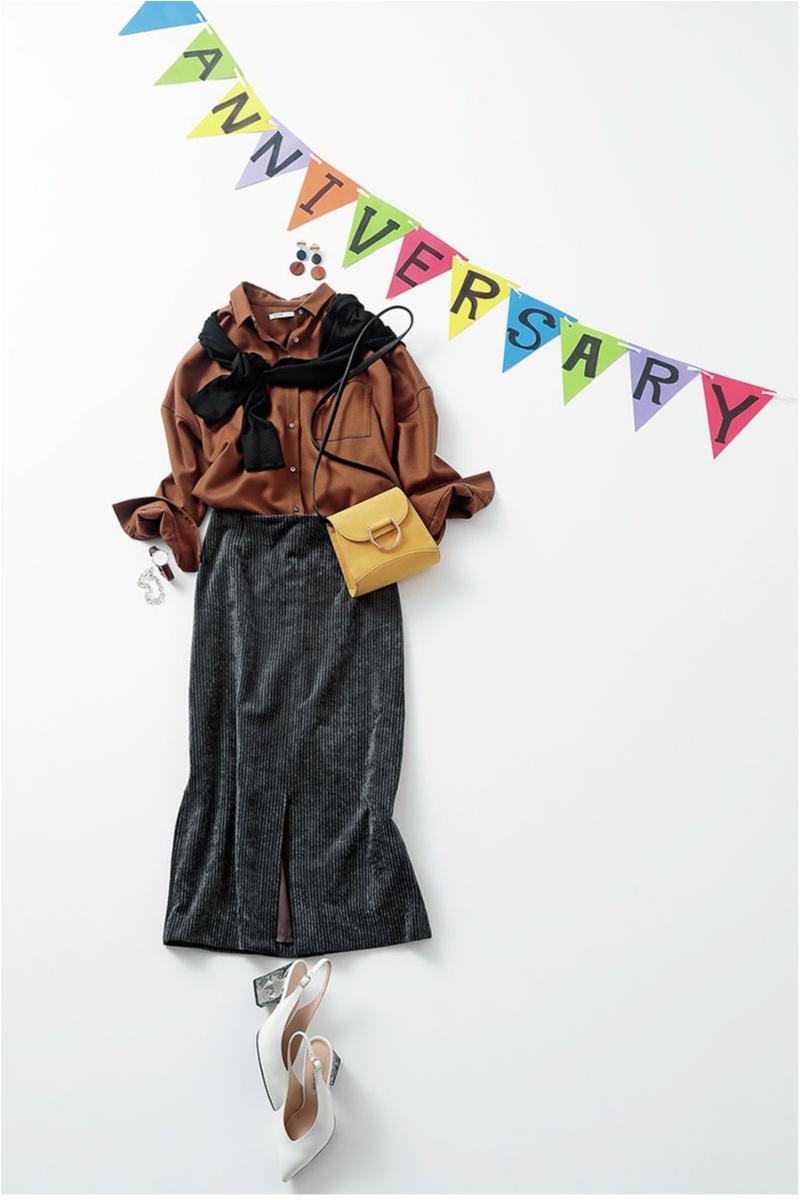 ブラウン,コーデ,ファッション,20代,2018,秋