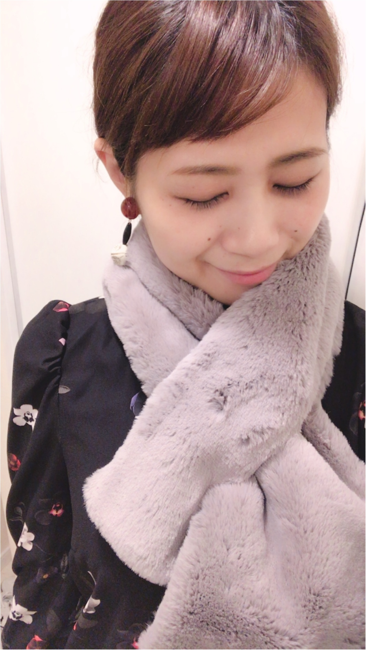 【 コーデ】組曲×MOREのコラボ♡ニットセットアップ&ファーティペットでMOREレディ♡_5
