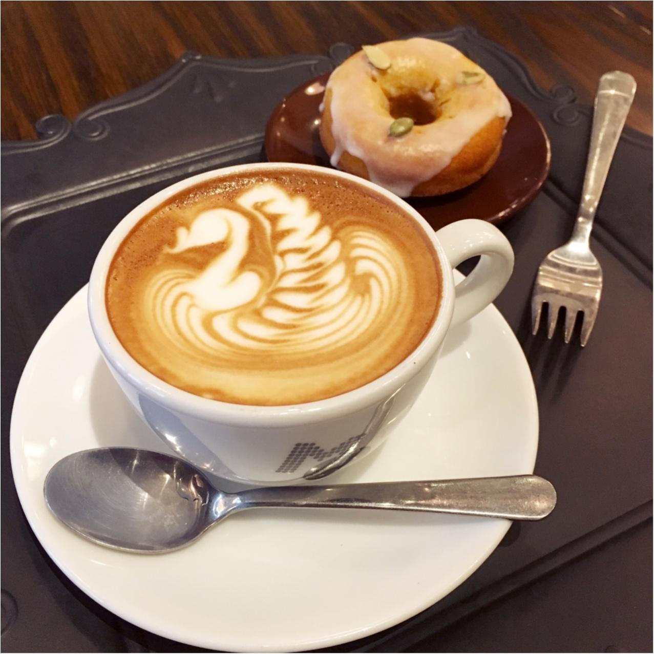 【大阪】 美しいラテアートに心ときめく♡♡フォトジェニックなコーヒーはいかが?_4