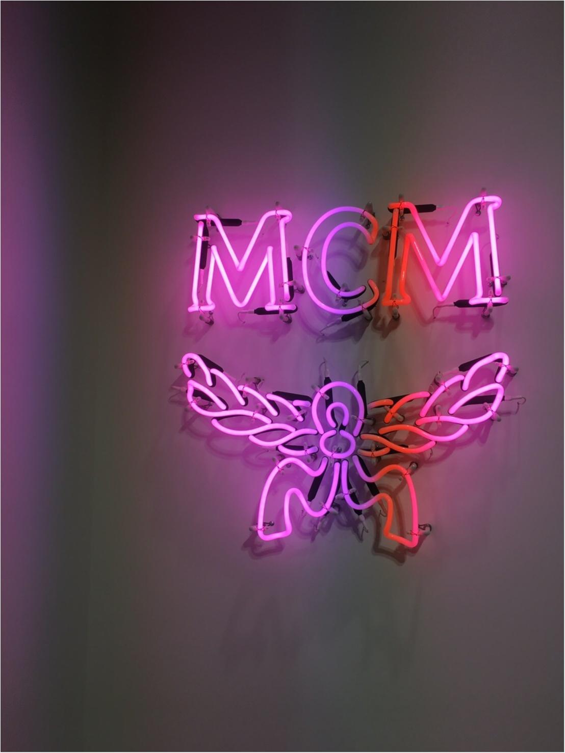 『MCM』のPOPUPSHOPに行ったら楽しかった件_1