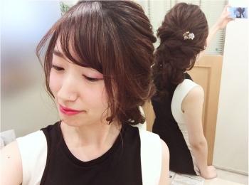 【名古屋駅/e.m.a assort】ふわふわルーズな編みおろし♡結婚式ヘアセットに✨