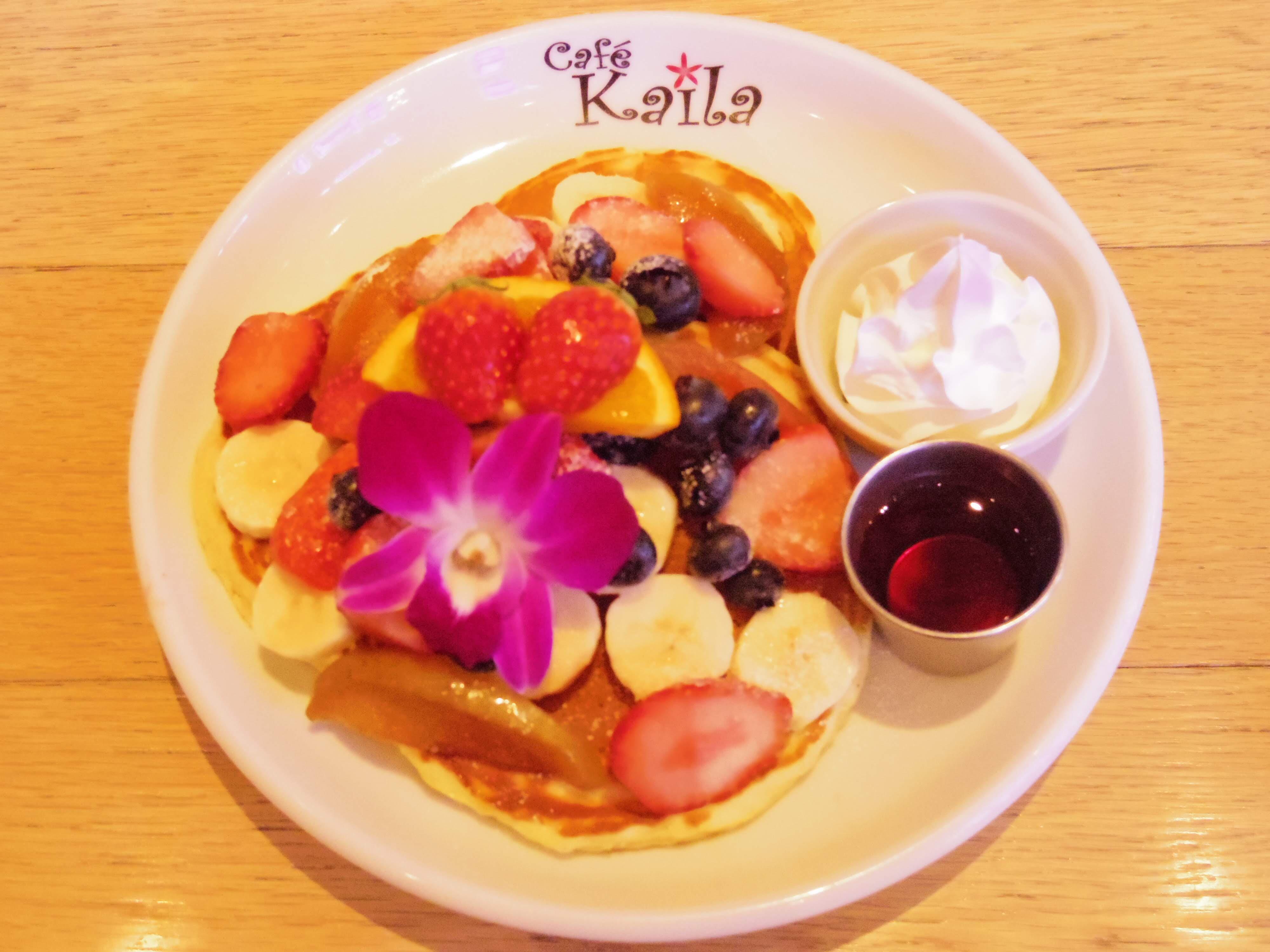 【冬でも気分は常夏♡】カフェ・カイラのパンケーキで2019年パンケーキ始め!_4