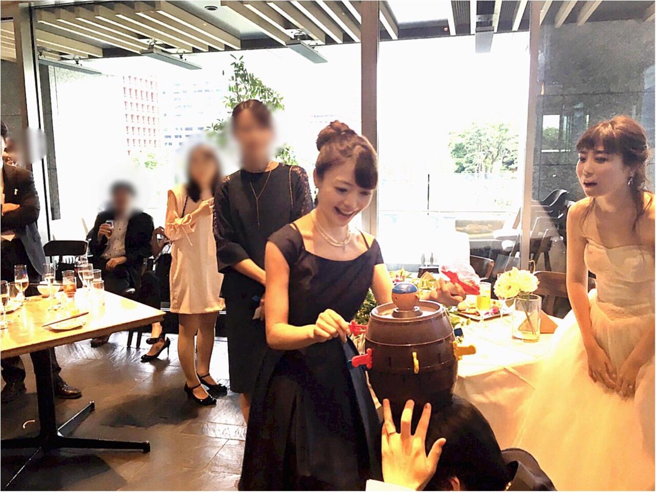 【Happy wedding❤︎】モアハピ部同期の結婚式にみんなで参加してきました!!挙式から二次会まで写真たっぷりでレポートします♡_13