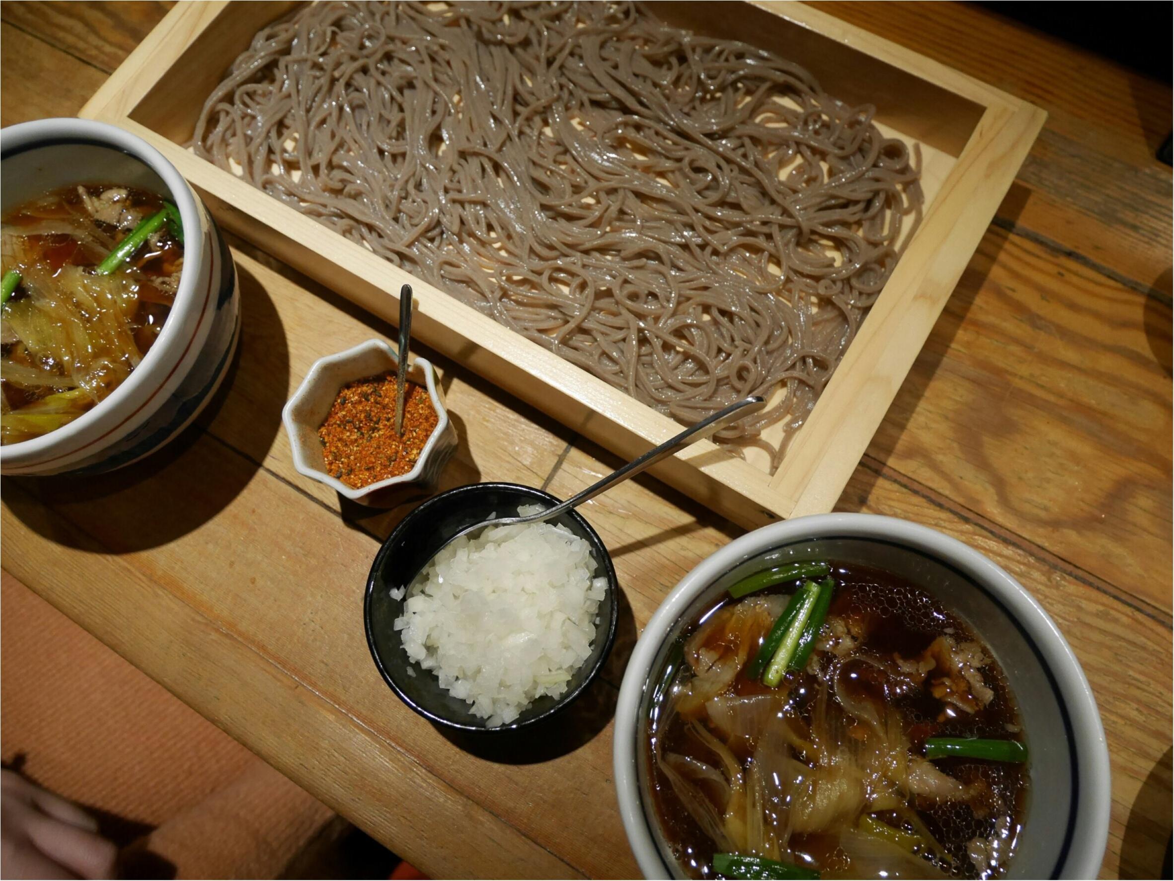 【恵比寿】そば・しゃぶしゃぶ・日本酒を楽しむなら『まにん』✨黒豚つけ麺そばが絶品〜♡_7