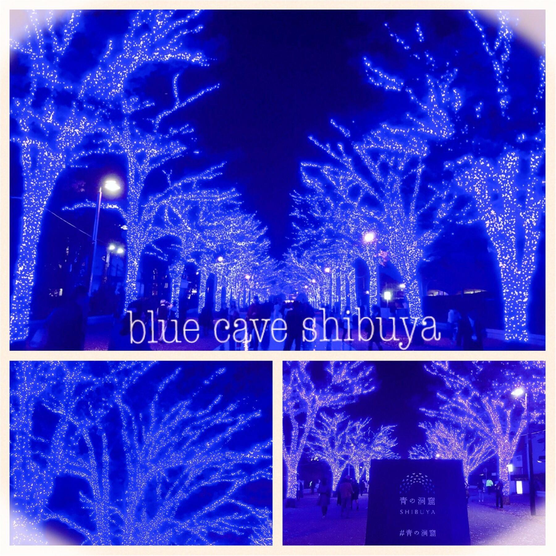 あの『青の洞窟』が渋谷に帰ってきた♡一面ブルーのイルミネーションは見逃し厳禁(*´ ˘ `*)_1