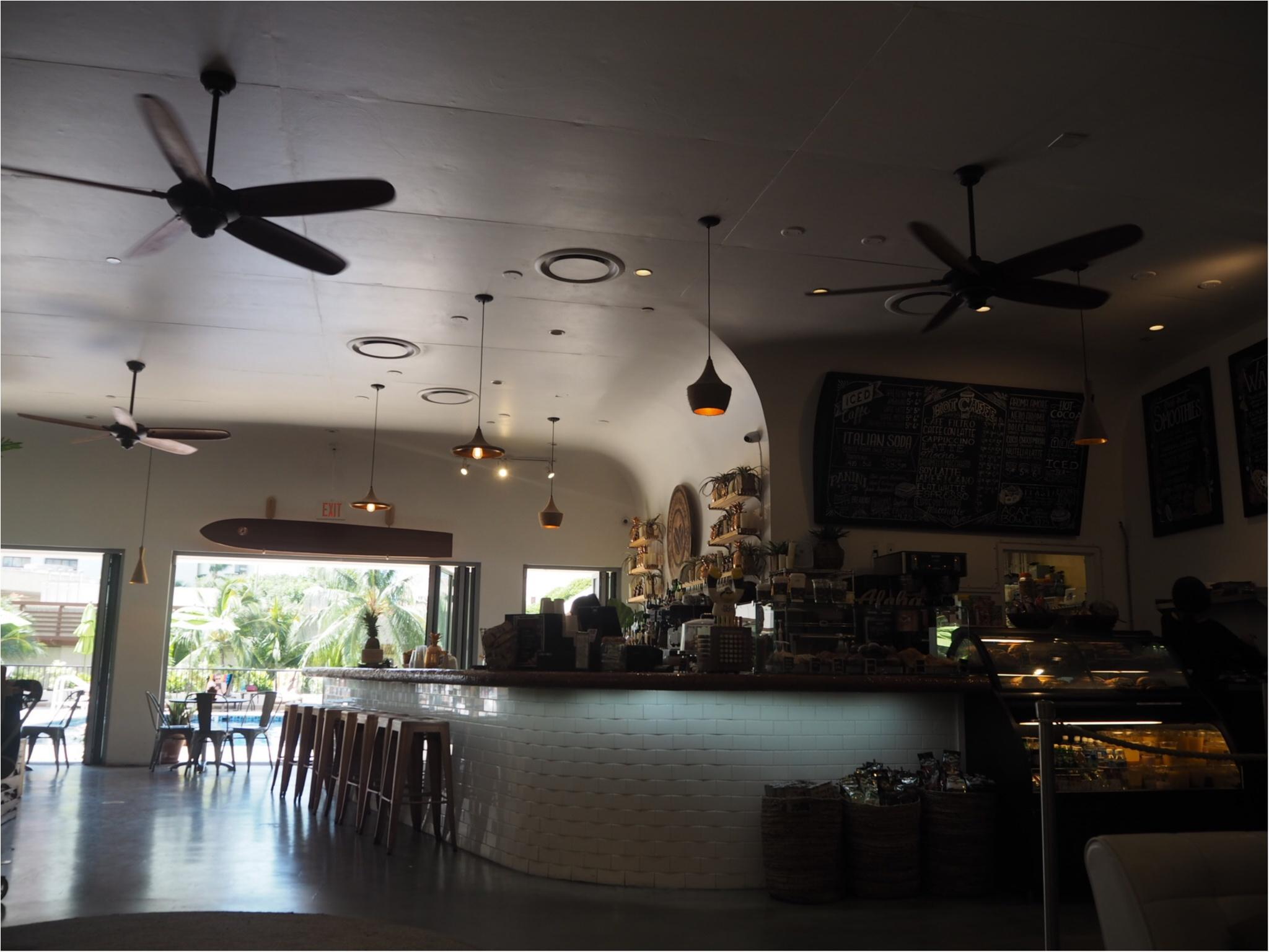 《今、ワイキキで一番オシャレでフォトジェニックなカフェ!》ハワイアン・アロマカフェでまったりブランチ♡♡(&旅行で役に立つプチ英語教室)_8