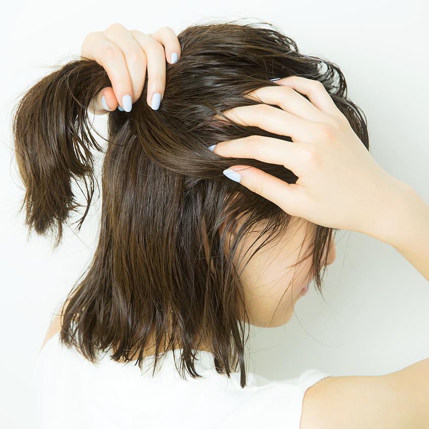 次くるヘアアレンジ5つのHOT TIPS♡『女っぽだんごは後れ毛で彩る♡』_4