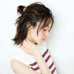 次くるヘアアレンジ5つのHOT TIPS♡『女っぽだんごは後れ毛で彩る♡』