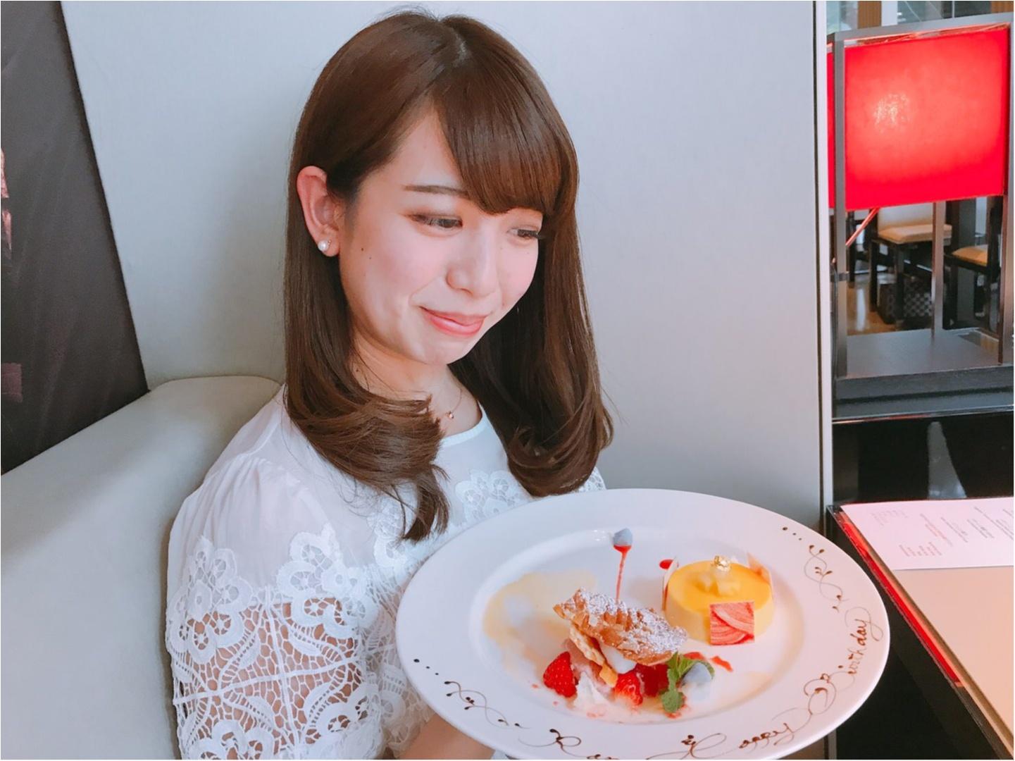 ブランド力!!オシャレな【ARMANI CAFFE】でお誕生日会☆_7