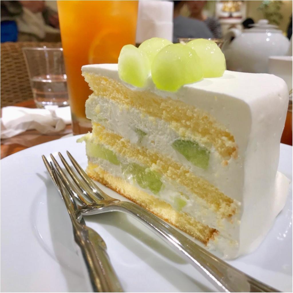 【HARBS期間限定ケーキ〜メロン特集②〜】すべては美味しいメロンと○○のために!_2
