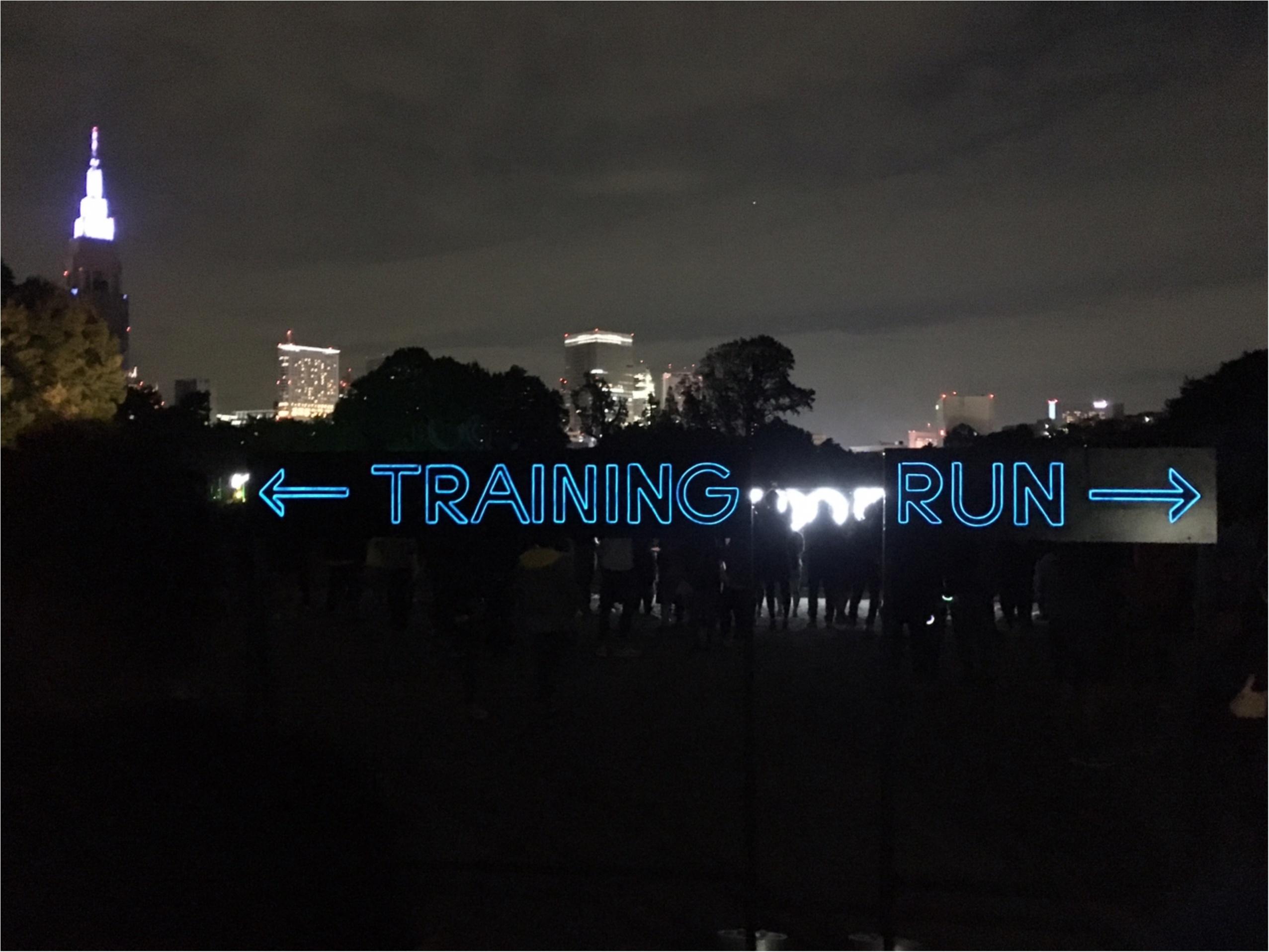 【NIKE(ナイキ)】『AFTER DARK』夜の新宿御苑でラン&トレーニング!_3