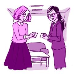 オフィスで使える「女子コミュ」技(3) VS.女性クライアント