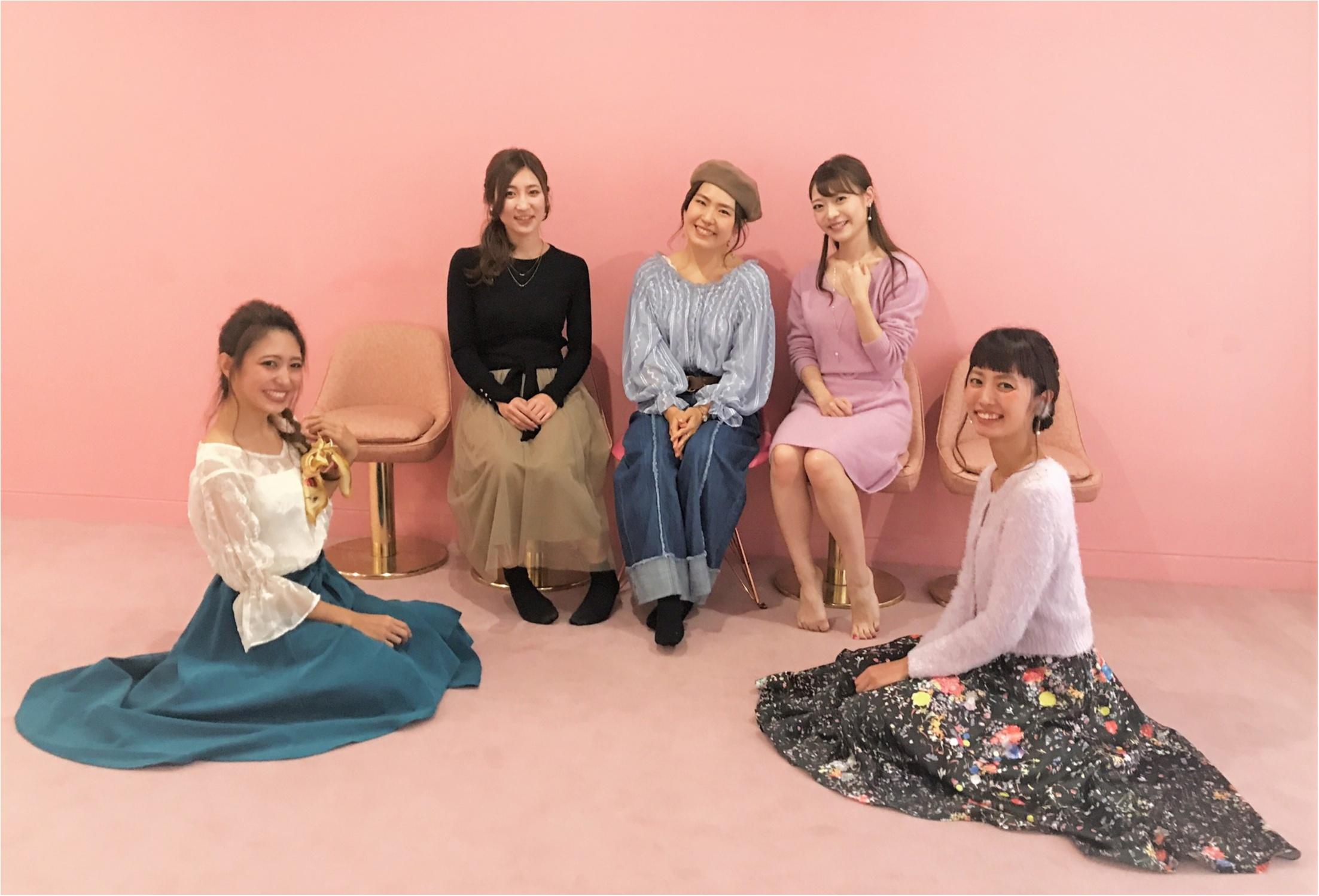 モアハピ部の美人さんたちとの撮影レポ!_5