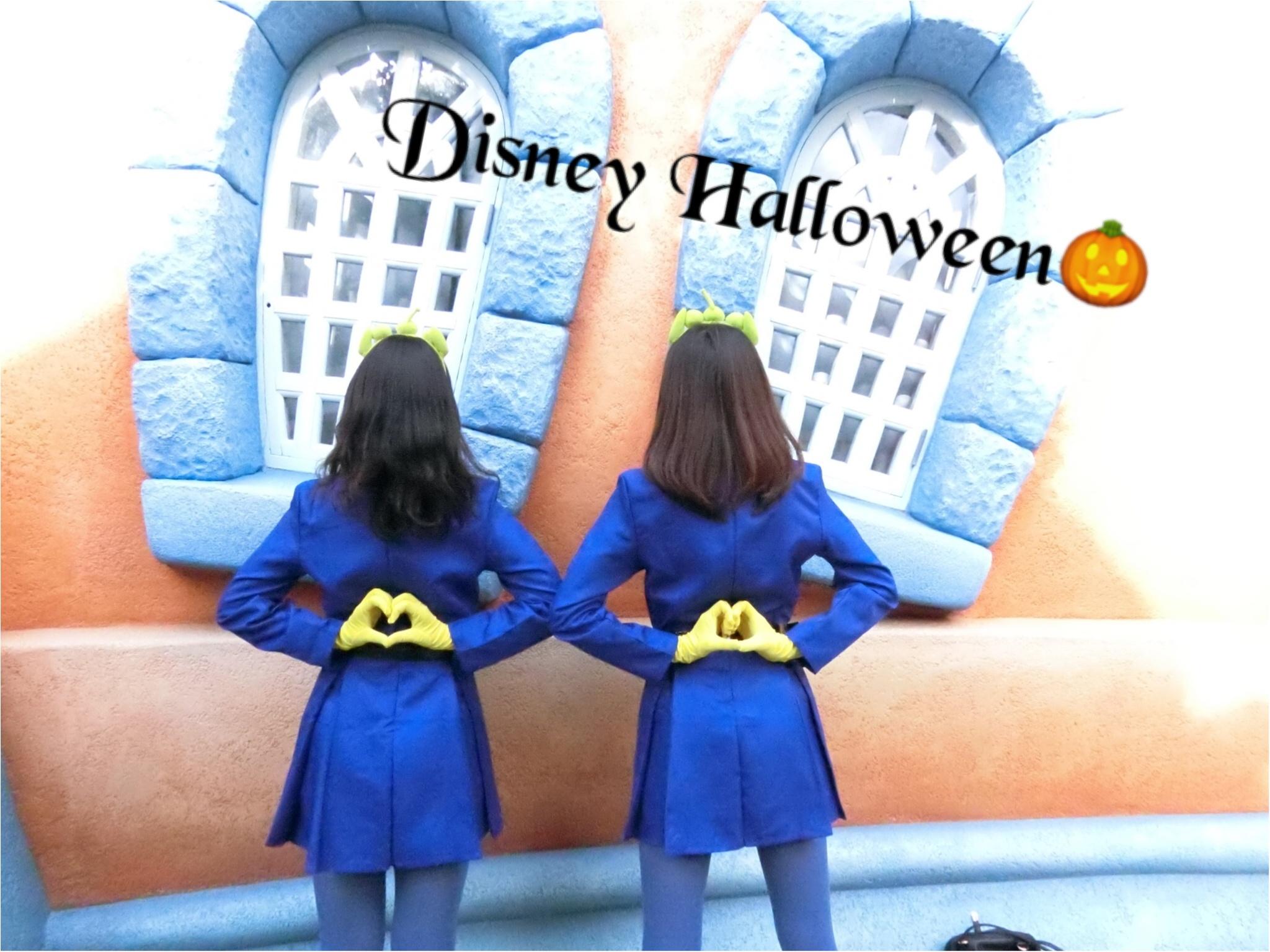 ▷【Disney Halloween2018】綺麗な宇宙のお姉さんになりきってみた☆_4