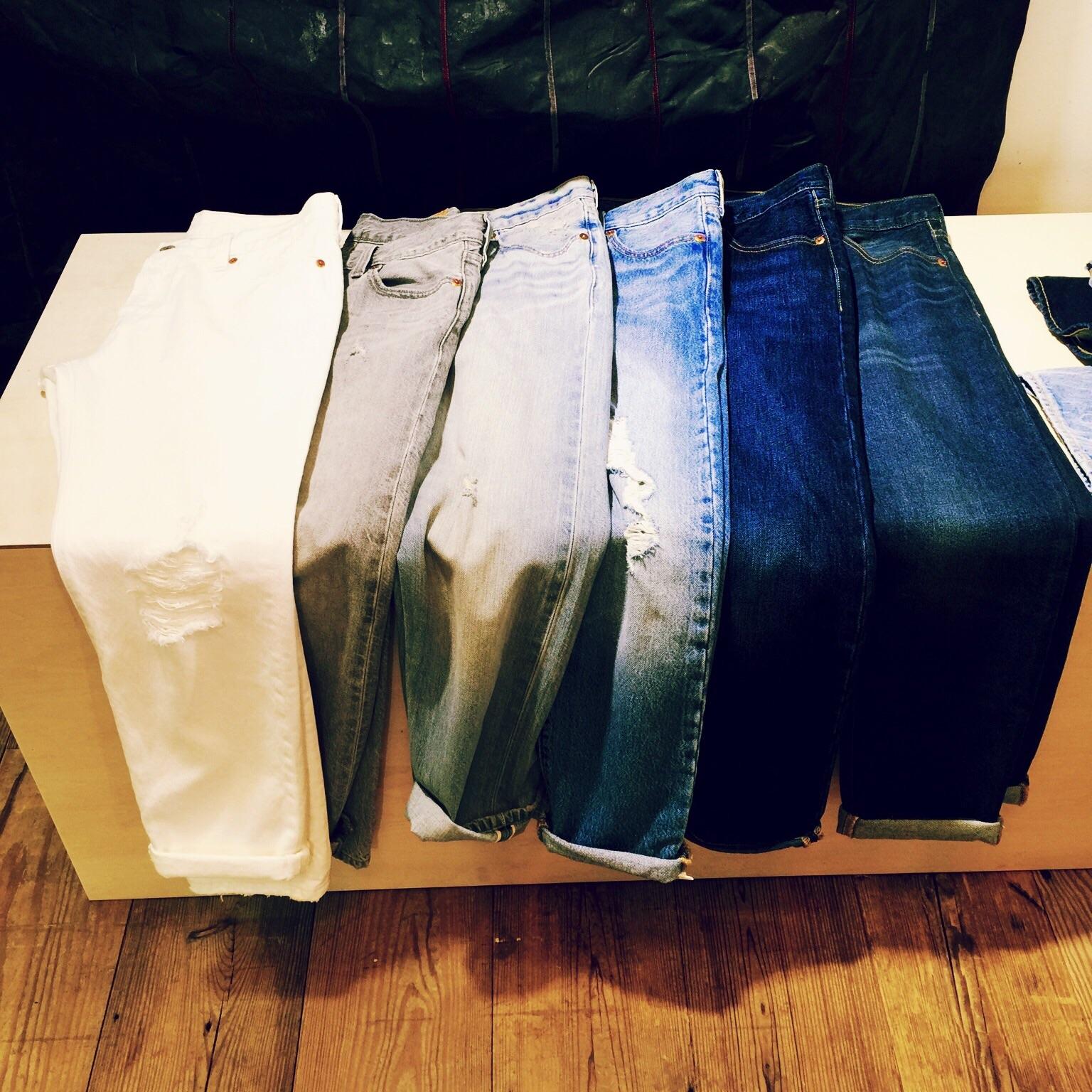 『リーバイス』のジーンズで女っぷりを上げたい!_2
