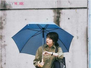【今日のコーデ】忙しい日は迷わずシャツワンピ! 「楽なのにきれい」は雨の日も蒸し暑い日も有効だから♪