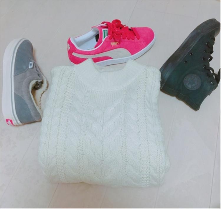 《プラスワンでもっと可愛く♡》この冬のマストバイ商品、UNIQLOのニットケーブルワンピース♡_5