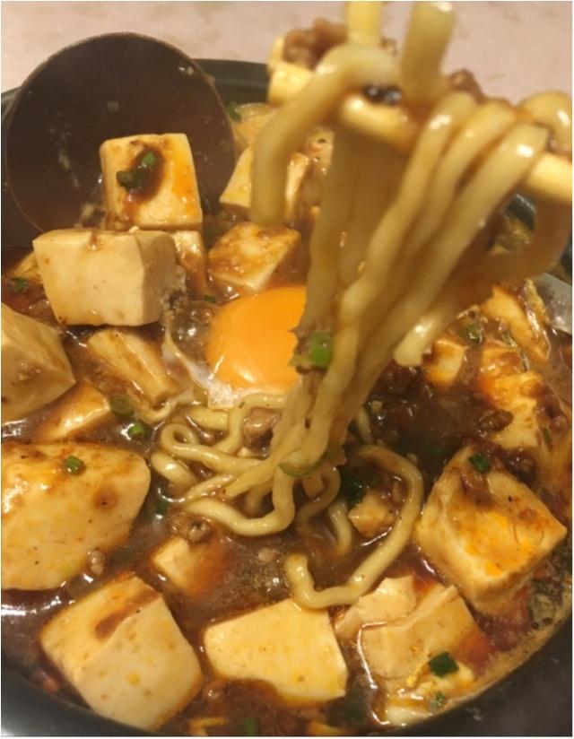 【また食べたい】佐藤ありさちゃんも食べていた美味しすぎる麻婆麺。_7