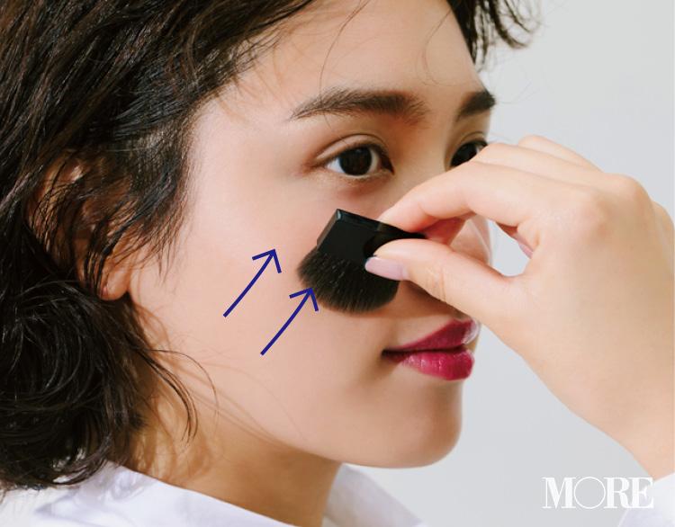大人気ヘア&メイクさんの「ハイライト&シェーディング、ここに入れてますMAP」で、小顔を手に入れよう♡  記事Photo Gallery_1_10