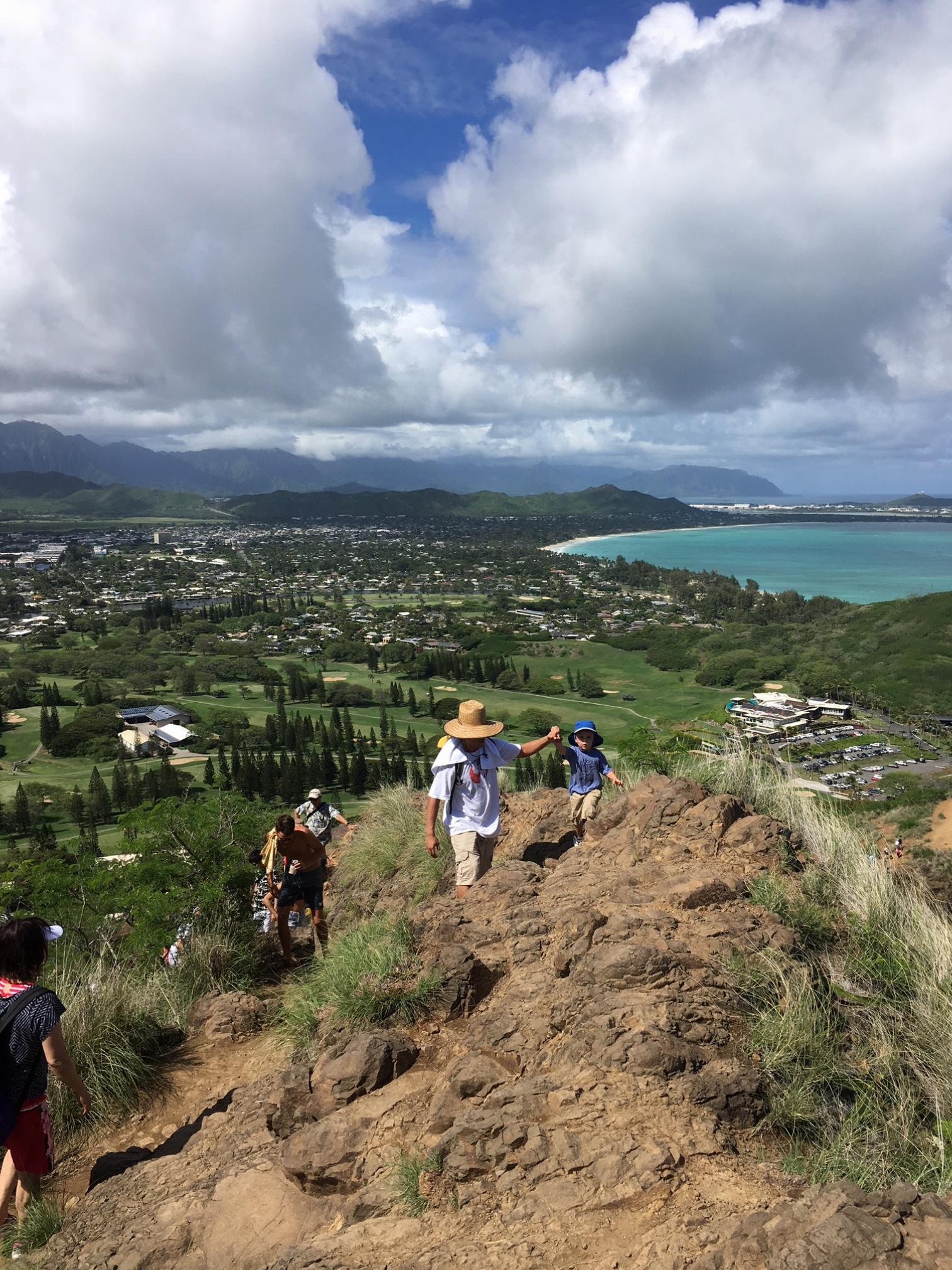 【ハワイ旅①】ダイヤモンドヘッドだけじゃない、ハワイのハイキング!キツい分それ以上の景色と感動が待っていました♡♡♡_1