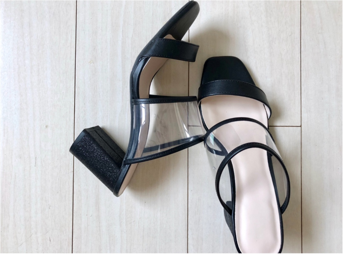 今年のトレンド《PVCサンダル》❤️私はプチプラ【GU】で万能な1足をゲットしました!_3
