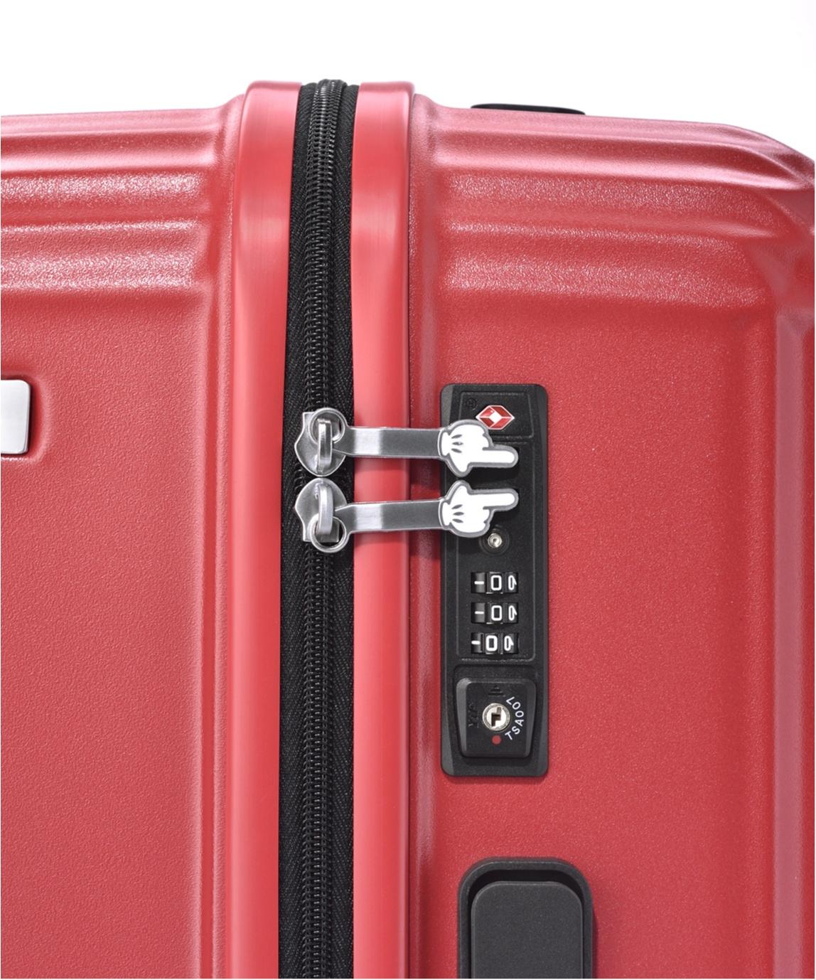 GWの旅行はミッキーマウスを連れて行こう♡ 細部までかわいいスーツケース発売中!_2_3