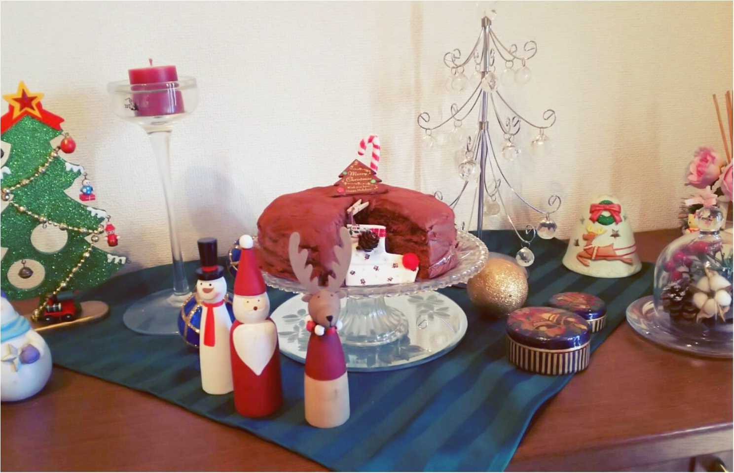 【クリスマスケーキ】大好きな手作りチョコレートケーキ♡♡クックパッドの人気レシピ_1