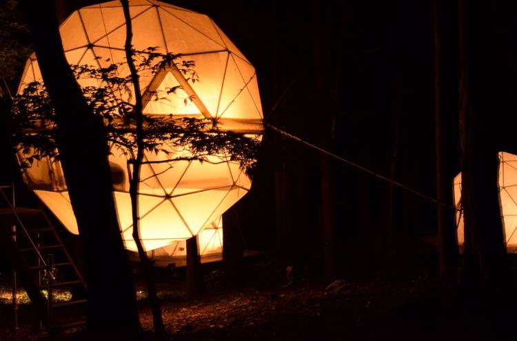 【グランピング】森に浮かぶテントに泊まれちゃう♡《INN THE PARK》@沼津_6