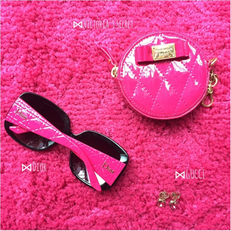 【Beauty】毎日の小物はピンクで統一気分Up♡だいすきkate spade のparty情報も♡_7