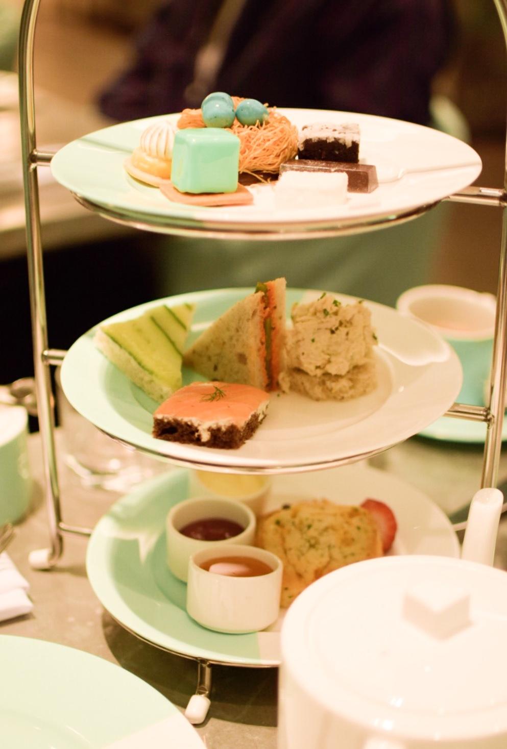【NY】5番街で「ティファニーで朝食を」実際に食べれる!?The Blue Box Cafe【Tiffany】_3