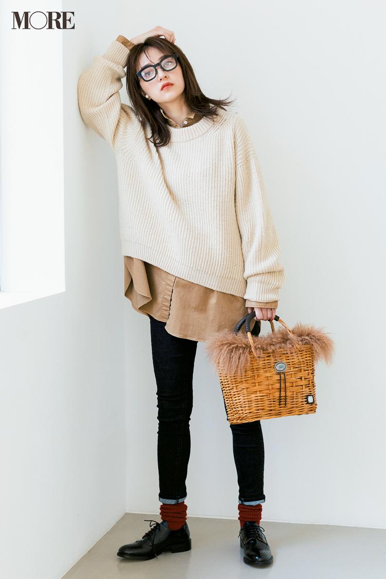 ビッグサイズがポイント! 2019年冬から春にかけて着たいシャツコーデ | ファッション_1_7