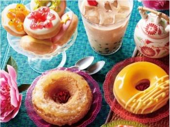 杏仁豆腐にベトナムチェー⁈ 人気のアジアンデザートがドーナツになっちゃった☆
