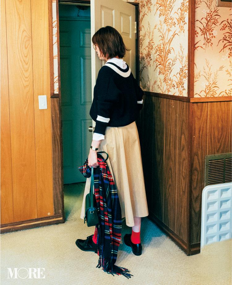 2018年秋のファッション ニット50