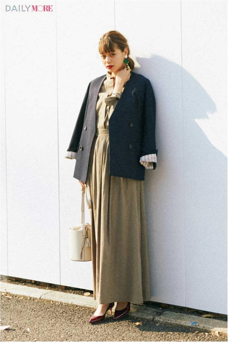 【今日のコーデ/岸本セシル】簡単なのにいちばん素敵♡ リネンのセットアップ×ジャケットの旬コンビ。_1