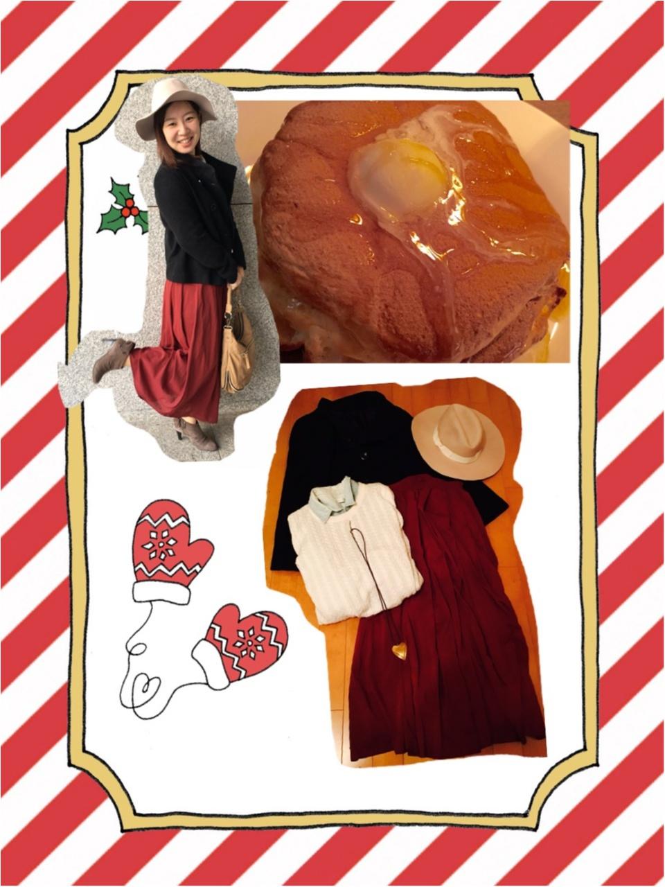 ドレスコードは赤❤️表参道のオシャレなお店で女子会_12