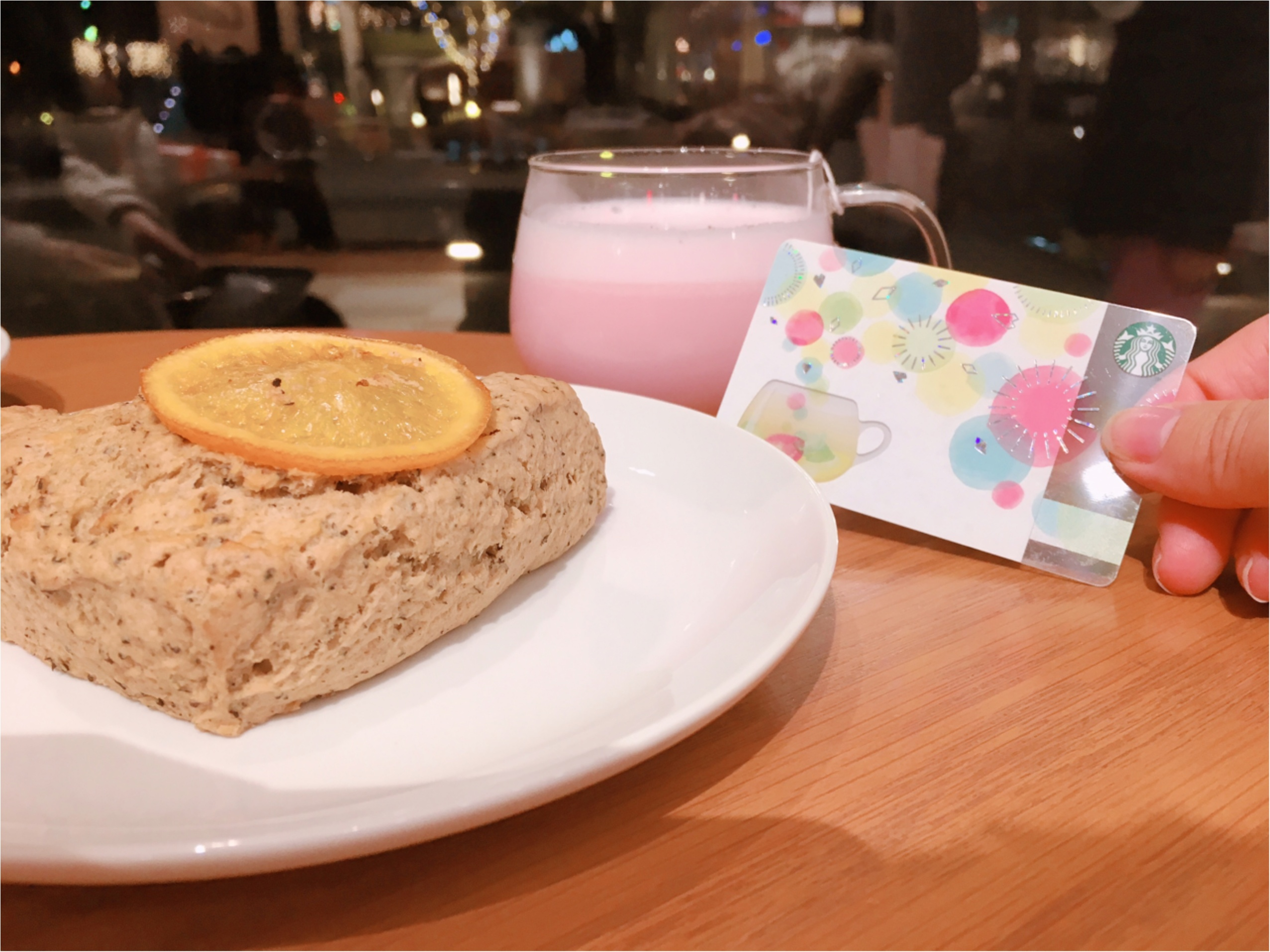 【スタバ】TEAVANA新作『ピンクメドレーティーラテ』はちょっぴりさわやかな◯◯!?_3