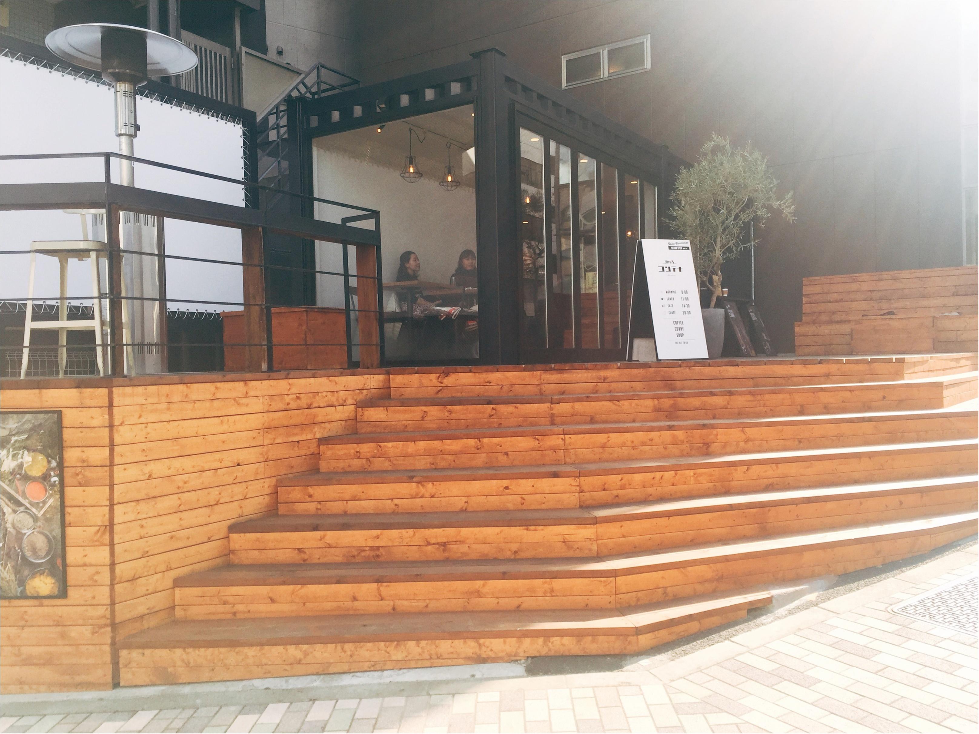 """カレー激戦区""""恵比寿""""にNew Open!3年間限定でカレーやコーヒーを楽しめるカフェ♡_1"""