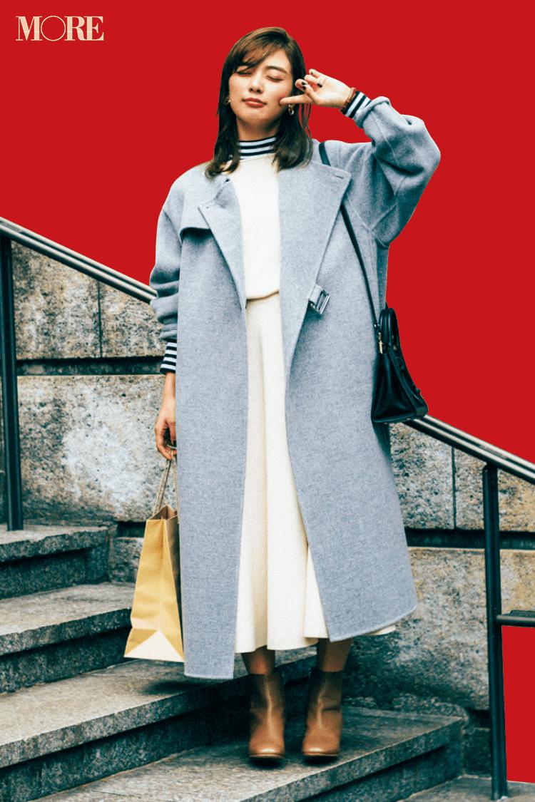 何気ないコーデをちょっと特別にしてくれる【冬の白】コーデ見本   ファッション(2018年編)_1_4