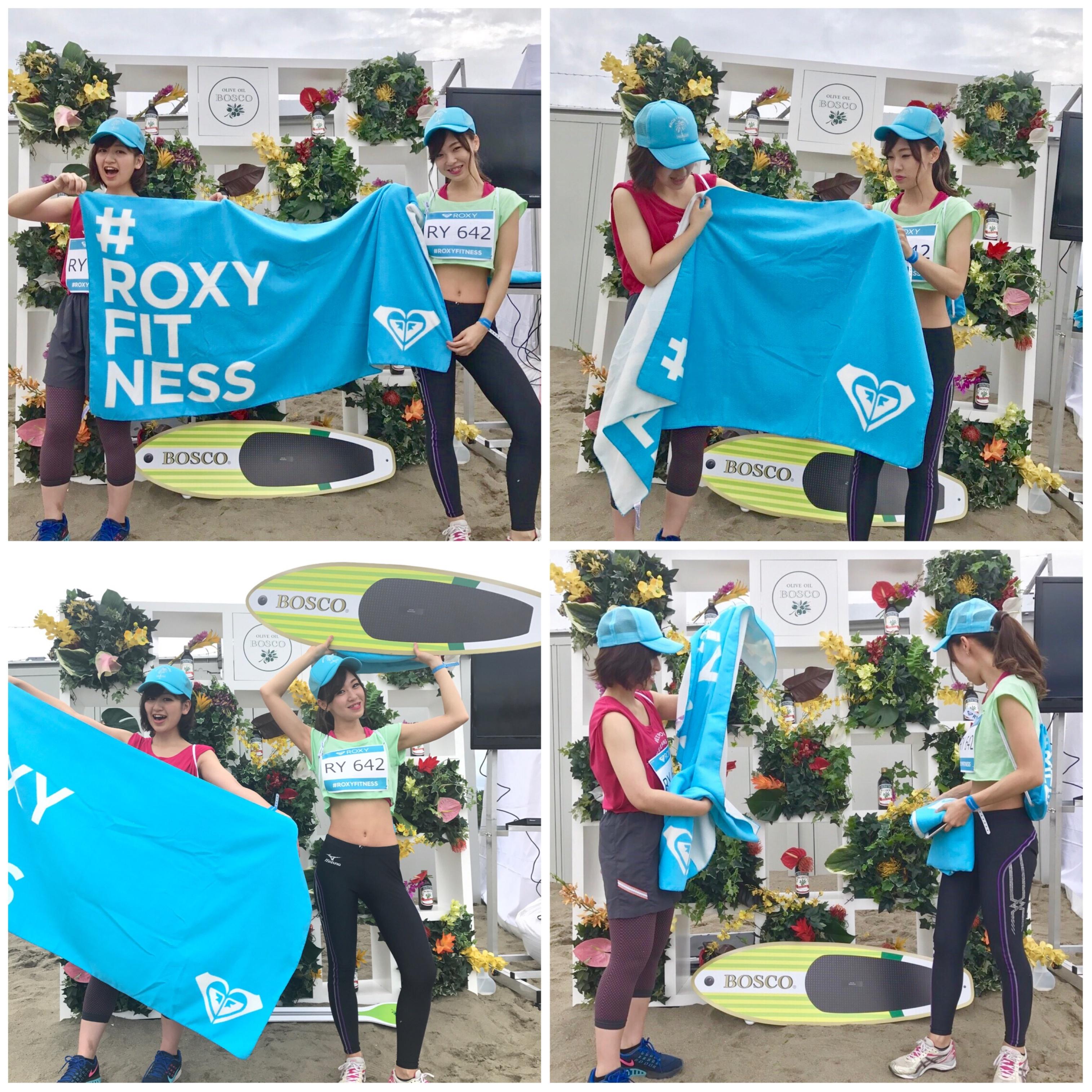 【EVENT】横浜初開催!#ROXY FITNESS RUN SUP YOGAに行ってきました♥_8