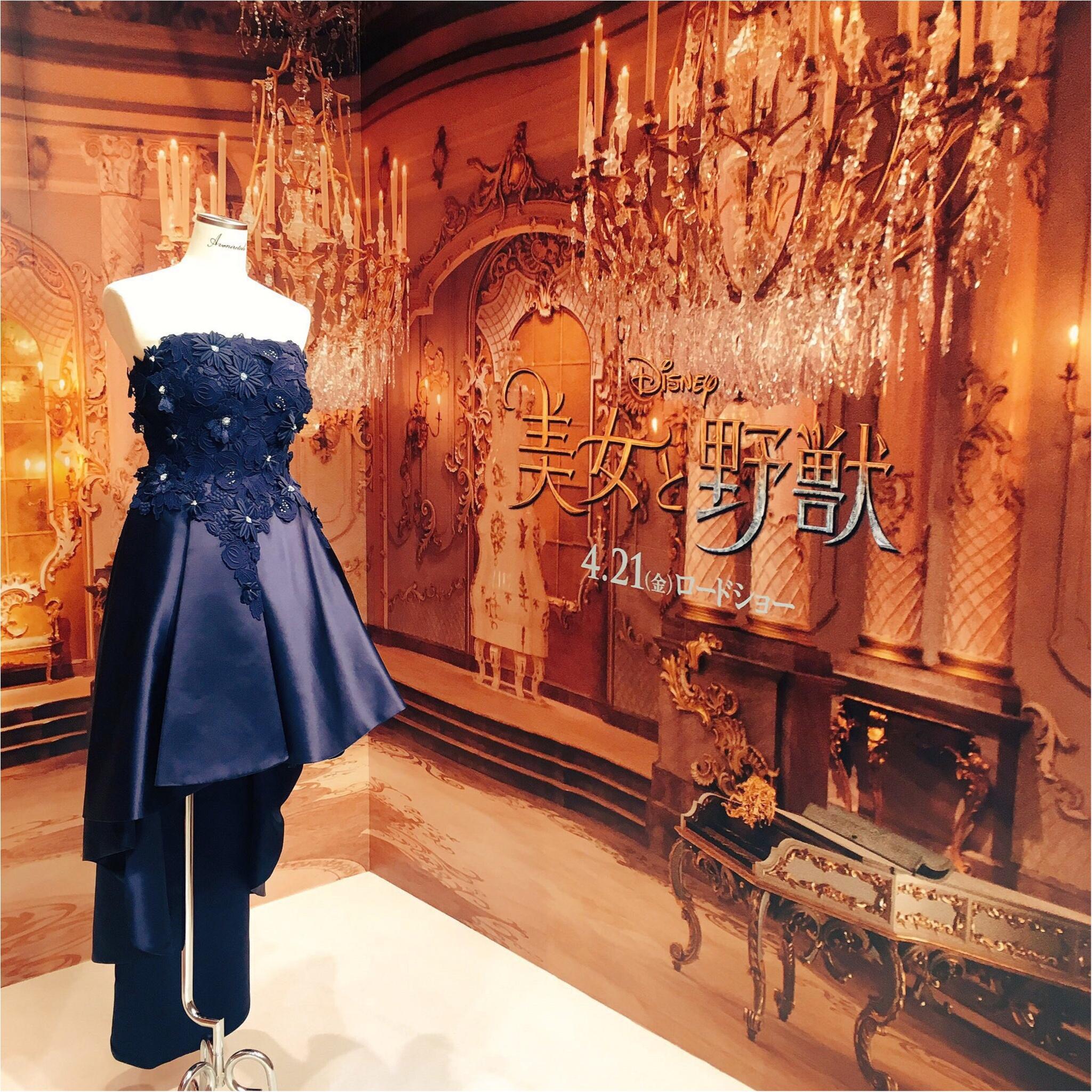 『美女と野獣』と伊勢丹展に行ってきました♡なんと、お値段◯◯◯万円のガラス製ローズドームの販売も…!_4