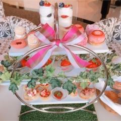 結婚式を挙げたいNo.1ホテル【ラ・スイート神戸】でいちご狩り?贅沢『ストロベリーアフタヌーンティー』