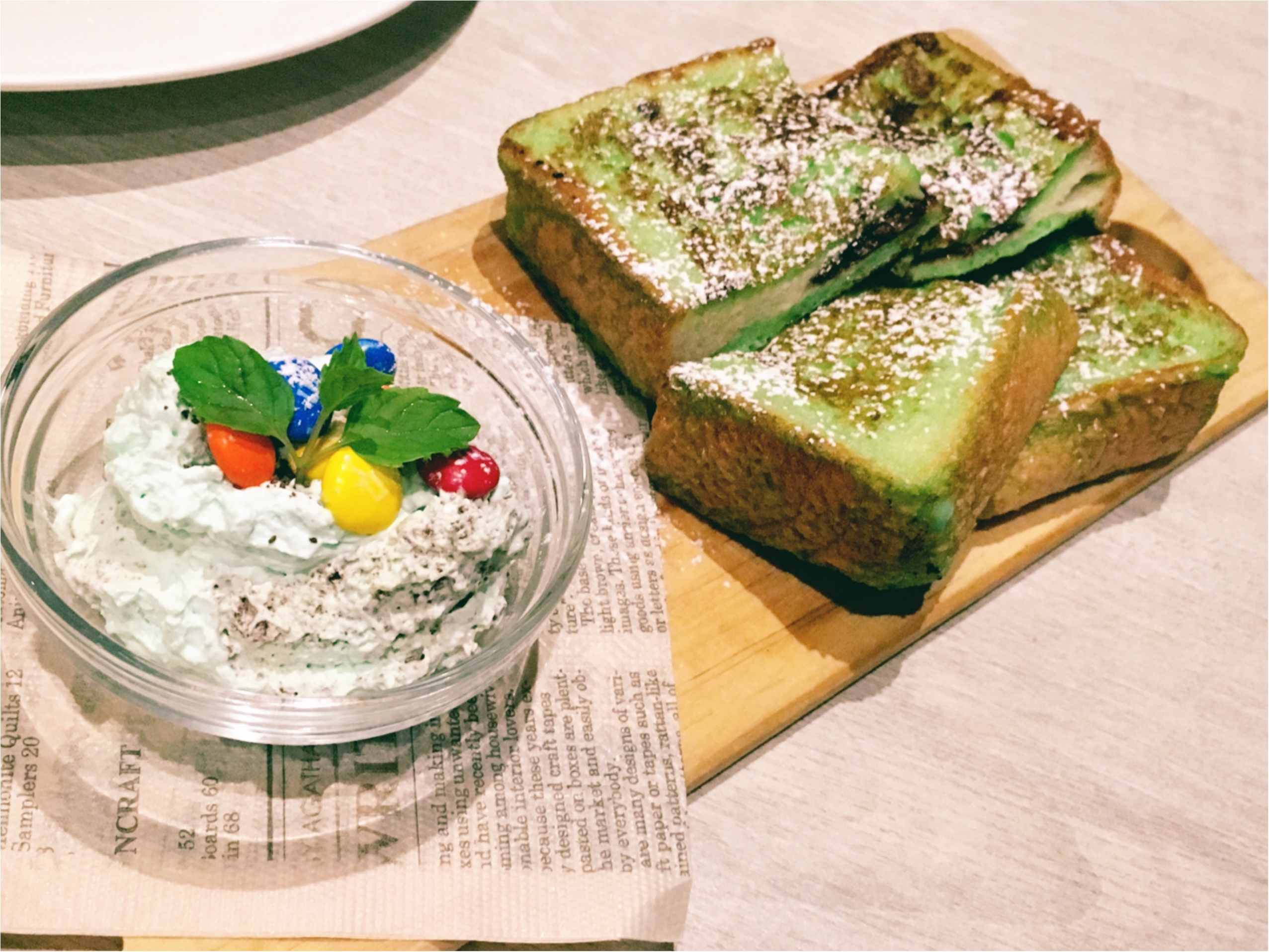 #チョコミン党 活動日誌♡横浜Cinnamon's(シナモンズ)でチョコミント祭り開催中‼︎-本日のモアハピ女子会-_3