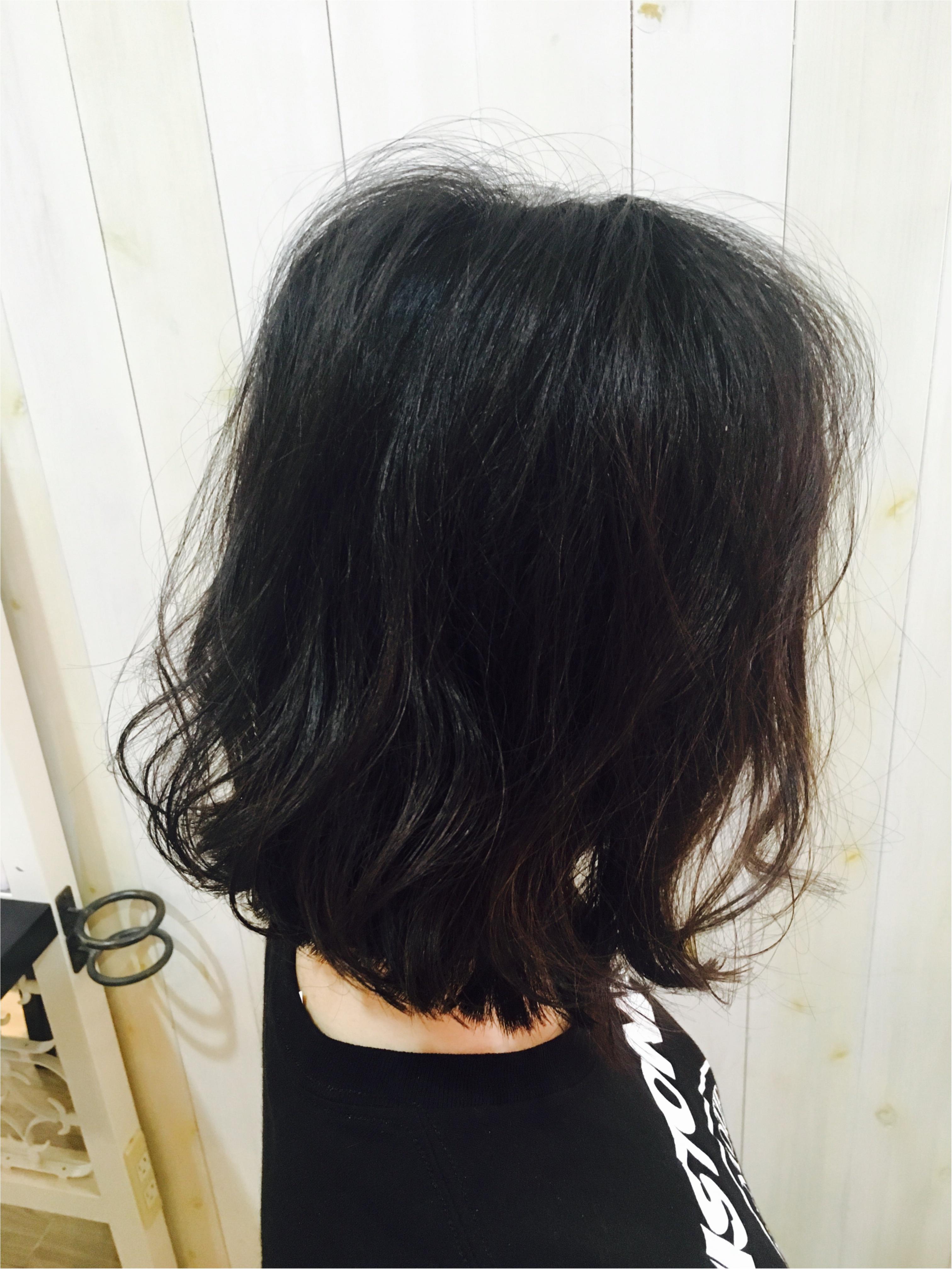 髪を切りました♡_2