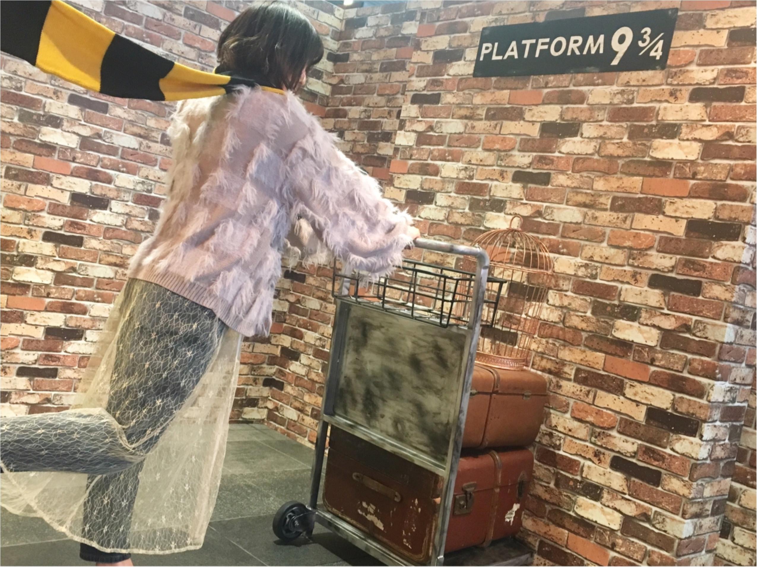渋谷駅に9と3/4番線!ハリーポッター×ファンタビの魔法界へ_3
