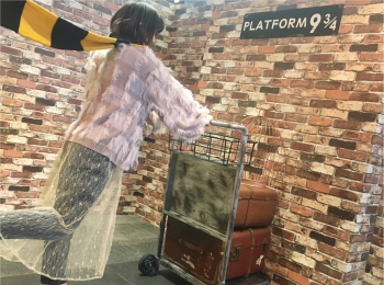 渋谷駅に9と3/4番線!ハリーポッター×ファンタビの魔法界へ