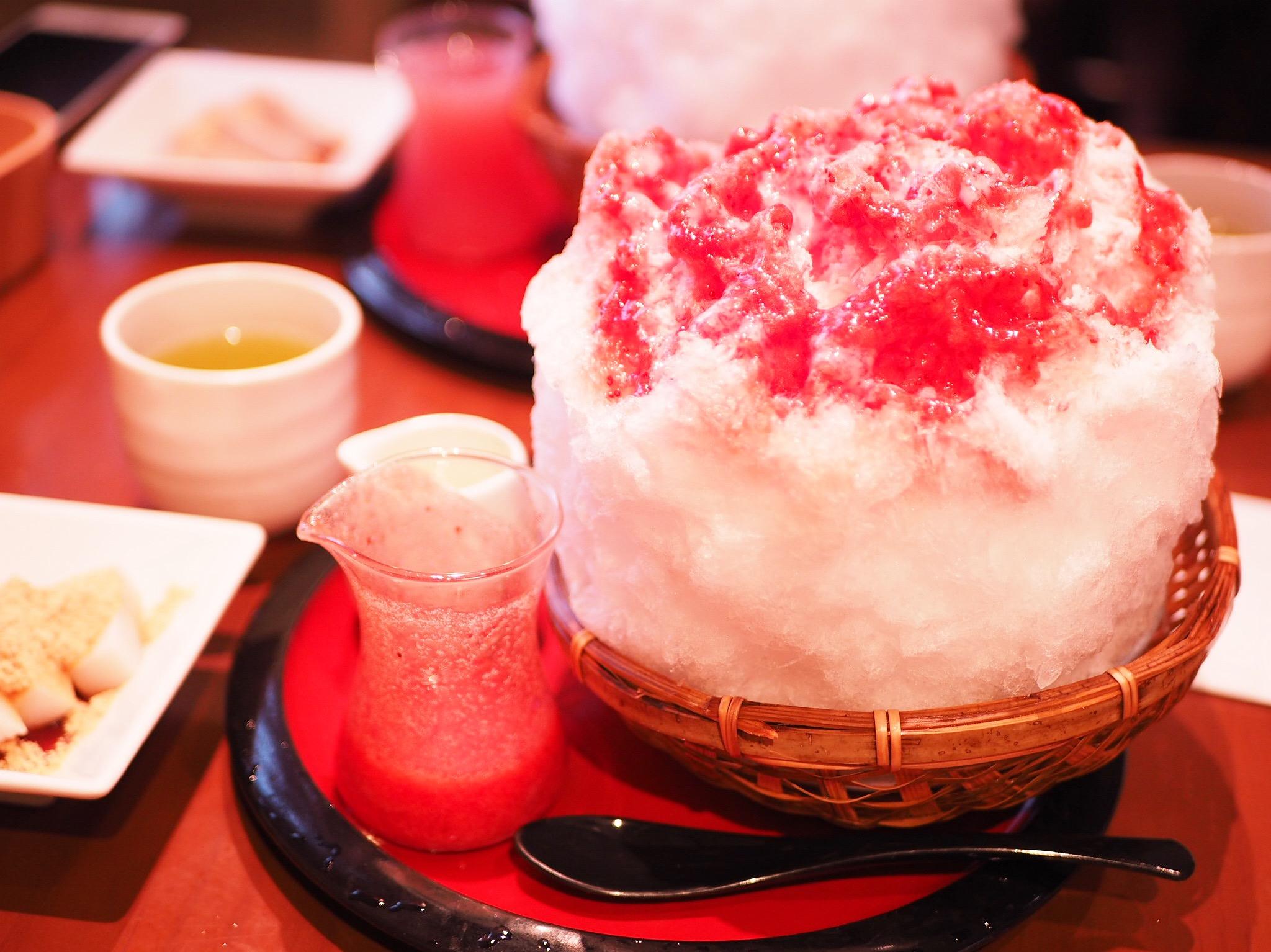 【#東京かき氷】涼しげな和かき氷♡《船橋屋広尾本店》_1