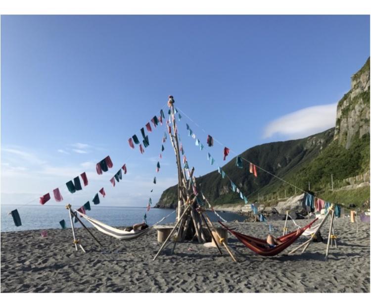 【TRIP】ビーチ×ハンモックが最高にオシャレ♡至福の時でございました・・・_1