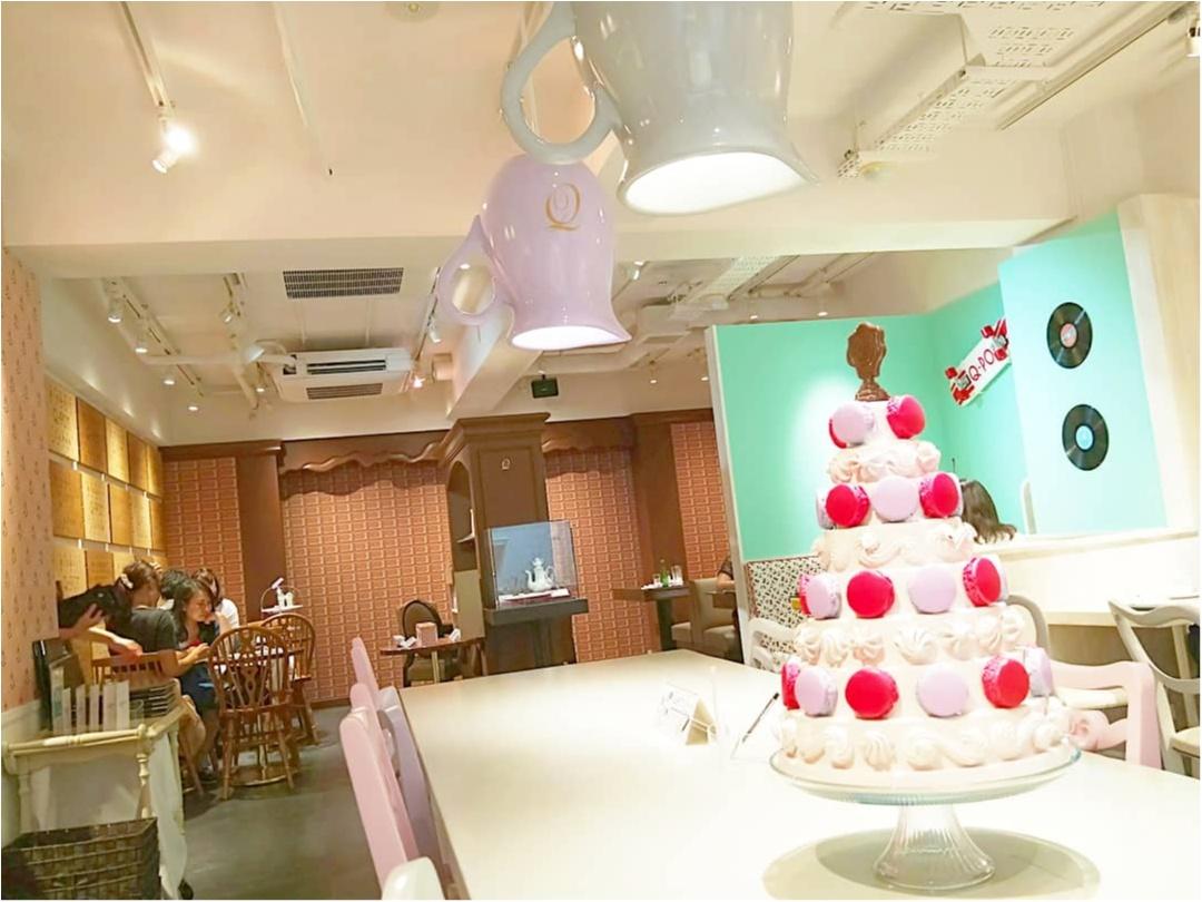 【表参道 Q-pot CAFE.】お菓子で溢れた店内で♡アクセサリーをモチーフにしたスイーツに舌鼓_4